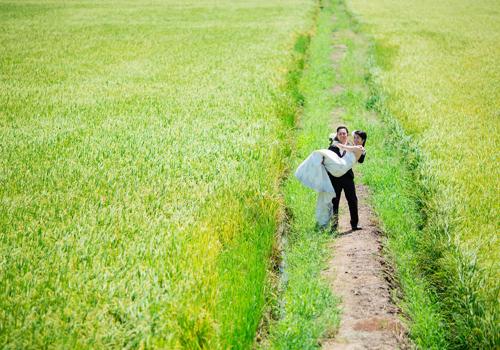 Сладкие свадебные фотографии на японском языке -7