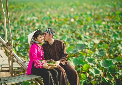 Сладкие свадебные фотографии на японском языке -9