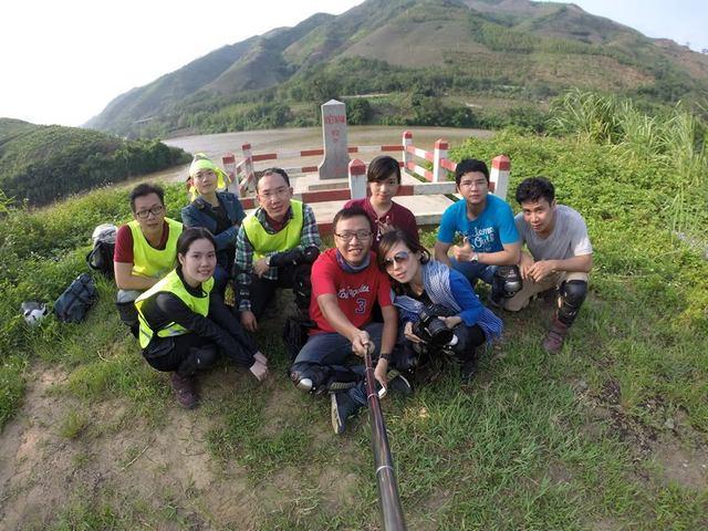 92 halt- Grenze zwischen Vietnam in China.