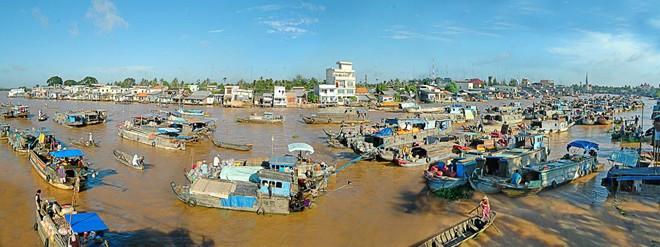 Oben 5 attraktiv schwimmende Märkte in Vietnam-3