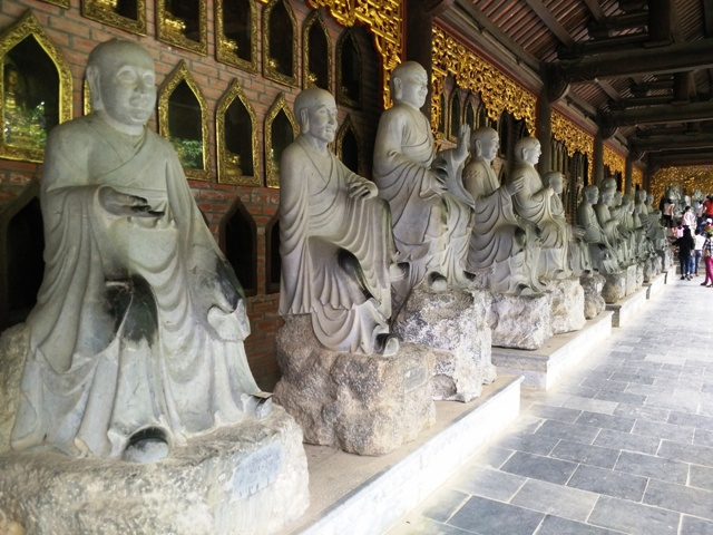 Pagoda is the longest corridor Asian Horn: Horn corridor approximately 3 kilometers.