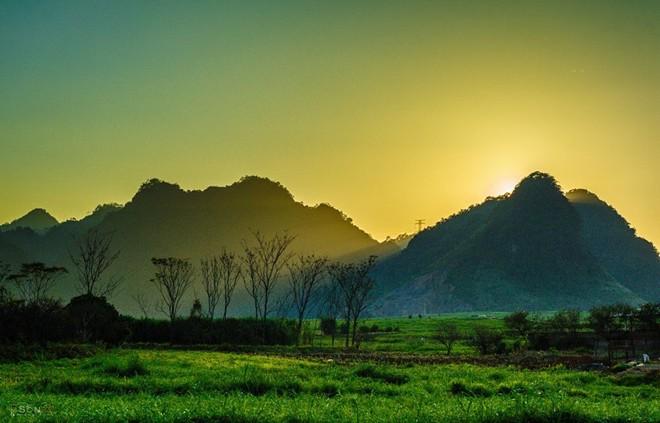 Moc Chau- Frieden