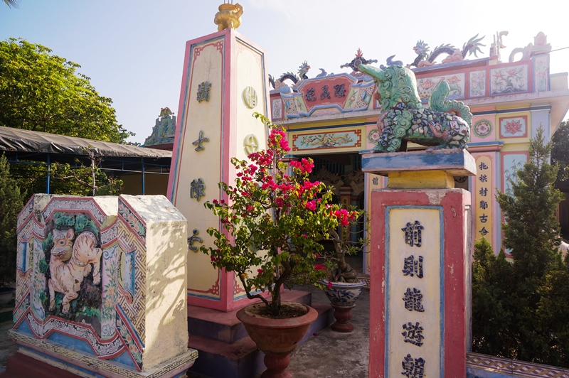 Am Linh Temple worships the ancestors who explored and reclaimed the land four centuries ago, as well as sailors who sacrificed themselves in missions on the East Sea.