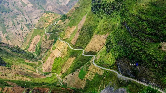 "With rugged terrain and spectacular unspoiled scenery, Ma Pi Leng Pass is one of the ""top four passes"" of northern Vietnam (along with Pha Din, O Quy Ho and Khau Pha)."