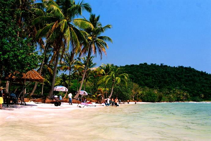 圣保罗海滩, 菲·阔克岛, 越南