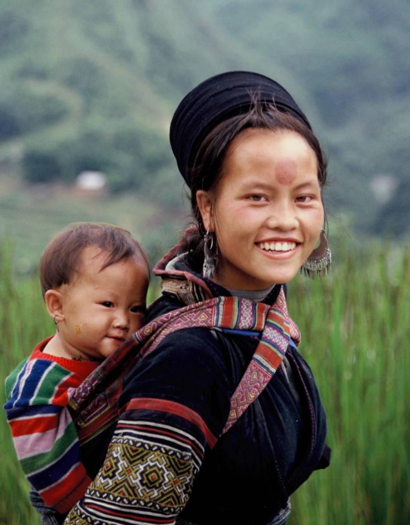 Ce sourire est facile à trouver lorsque vous voyagez à Sapa