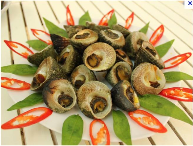 """""""Vu Nang"""" snail – a special food in Con Dao Island"""