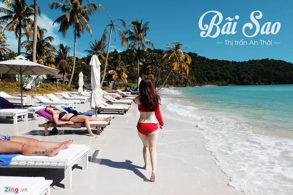 Sao Beach in Phu Quoc Island