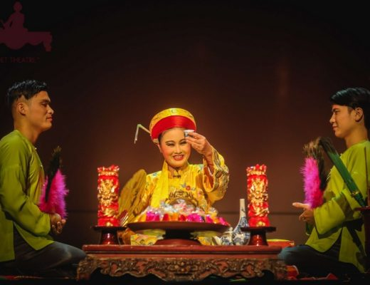 Quintessential culto spirito vietnamita