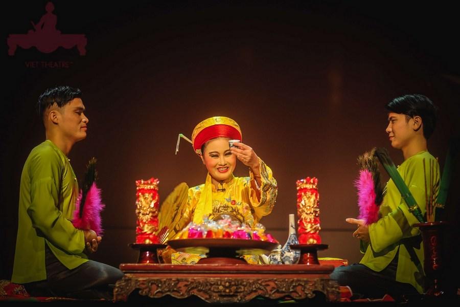 典型的越南精神崇拜