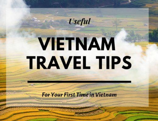 Vor Reisen nach Vietnam