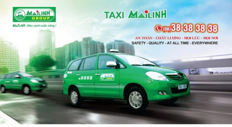 Mai Linh Taxi Hanoi: +84 24 3838 3838