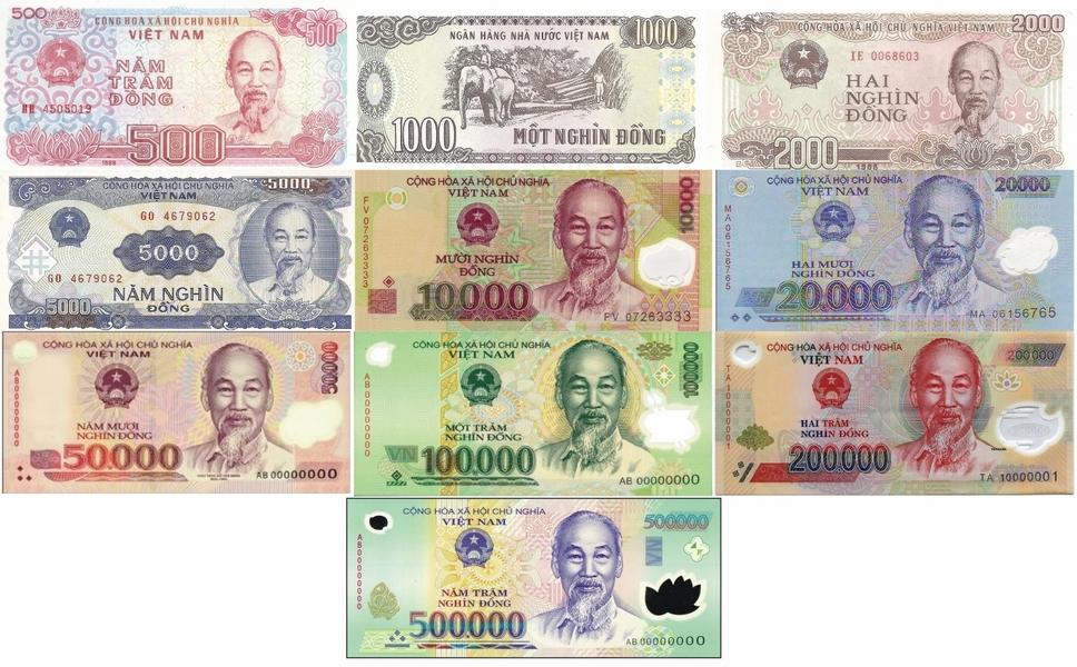 Vietnamesische Dong-Währung