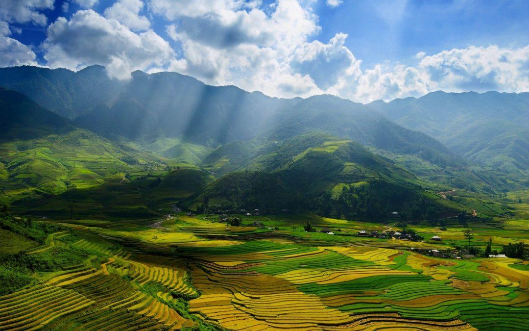 vietnam automne, Mu Cang Chai