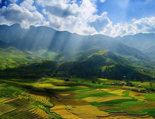 vietnam Herbst, Mu Cang Chai