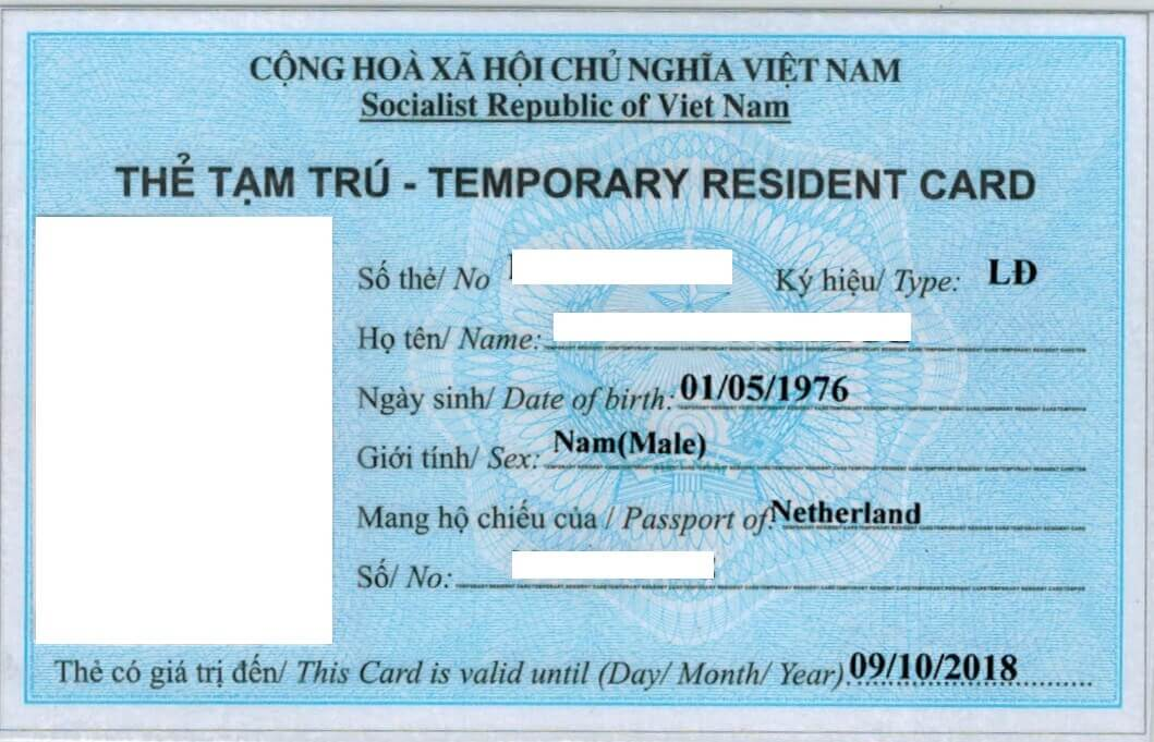 Temporary Residence Cards (TRCs) in Vietnam