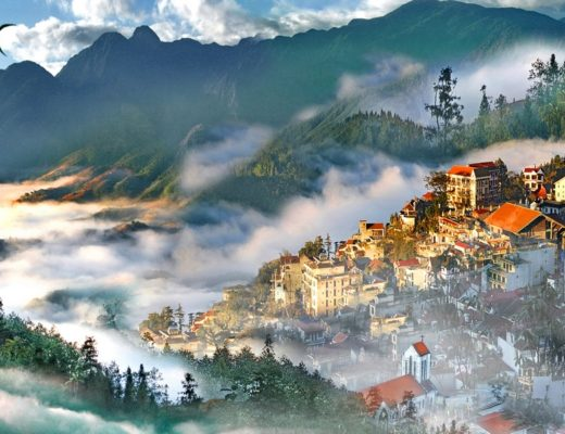 Sapa - Spring in the clouds