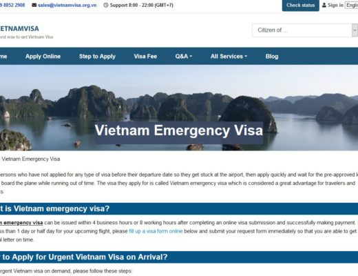 Vietnam visa urgent