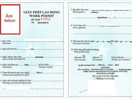 Разрешение на работу во Вьетнаме
