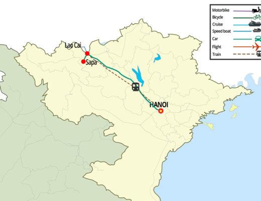 From Hanoi to Sapa