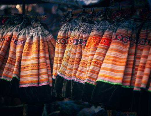 Bac Ha fair market in Lao Cai